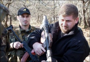 "Ramzan Kadyrov. Photo: ""Novaya Gazeta"""