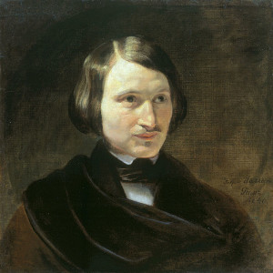 Nikolay Vasilyevitch Gogol, Ukrainian-born Russian author and dramatist by F.Moller (early 1840s, Ivanovo)